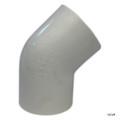 """PVC LASCO   2-1/2"""" SLIP 45^ ELL   417-025"""