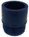 "PLEATCO | 1-1/2"" ADAPTER MALE PIPE THREAD PUSH-IN (SMOOTH) - P 