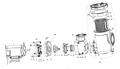 PENTAIR   IImpeller ASSY - EQW500   350070