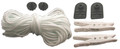 FEHEGUARD | PULL ROPE KIT (35 FT ROPE & FASTENERS) |FG-MPR