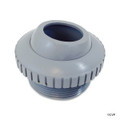 "SUPER PRO | HYDROSTREAM 1"" GRAY, WALL RETURN EYE BALL FITTING 