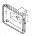 JANDY | BACK HOUSING W/ RS485 PCB, WIRED, FLUSH MOUNT,AQUALINK TOUCH, R-KIT | R0497500
