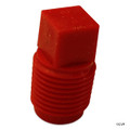 "JANDY | GRAY VALVE, RED PIPE PLUG 1/8"" P-18 