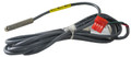"HYDRO QUIP | HYDRO QUIP HI LIMIT SENSOR, 76 INCH CABLE 1/4"" BULB, 3 WIRE CABLE 4 PIN, RED END CONNECTOR 