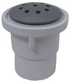 CUSTOM MOLDED PRODUCTS | TOP FLOW INJECTOR, GRAY | 23009-001-000