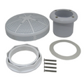 "CUSTOM MOLDED PRODUCTS | GRAY GUNITE SUCTION FITTING, 2"" SLIP 