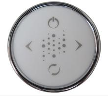 CG+/SENSOR-R-CP - TOPSIDE: CLASSIC LED ROUND, 4 BUTTON CHROME