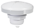 "CUSTOM MOLDED PRODUCTS | WHITE GUNITE SUCTION FITTING, 2"" SLIP 