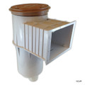 "PENTAIR | CONCRETE SKIMMER S20 FLAP WEIR 2"" BEIGE SLP 