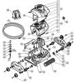 Hayward | SharkVAC | Motor Assembly SV/EV | RCX97400