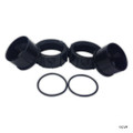 Pentair | EASYTOUCH Control Systems | Accessories | INETLLICHLOR REPLACEMENT UNIONS (CONTAINS 2 OringS, 2 COUPLERS, 2 NUTS) | 520595