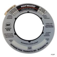 "Hayward | LABEL PLATE 2"" VARI-FLO SP0715 | SPX0715G"