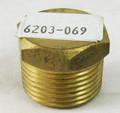 "Hayward | Universal H-Series Low NOx | H-Series MilliVolt | H-Series | 3/4"" NPT Brass Plug | CHXPLG1930"