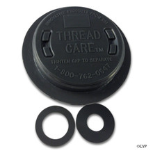 CARETAKER | THREADCARE RETURN FITTING 1.5 INCH GRAY | 3-3-113