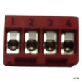 JANDY | TERMINAL BAR CONN 4-PIN RED | 6609