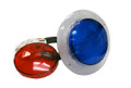 "O'Ryan Industries | LIGHT PART | 3-1/2"" WALL FITTING WITH LENSES (RED/BLUE) 