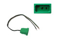 "J & J | MJJ RECEPTACLE | LIGHT 18/3 14"" GREEN 