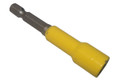 "Rack-A-Tiers | RACKY BIT | 5/16"" YELLOW MAGNETIC HEX 2.5"" 