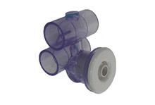"Balboa Water Group | JET ASSEMBLY | SLIMLINE 1"" X 1"" WHITE | 10-5250WHT"