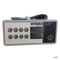 HydroQuip | TOPSIDE |  HT-2, 8 BUTTON 25' CORD, WITH OVERLAY | 34-0189