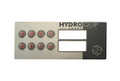 HydroQuip | OVERLAY | HT-2, 8-BUTTON | 80-0211