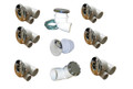 Hydrabath | PLUMBING KIT | STANDARD JET ASSEMBLY WHITE | 3-80-5100