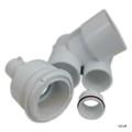 Waterway Plastics   Tee Body Assy, White   210-3710