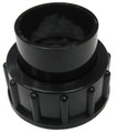 "Waterco USA | 1-1/2"" Half Union W/ Oring Black 