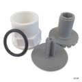 Waterway Plastics | Lo Pro Injector Thd Cap Only, Gray | 672-2137