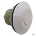 Pres Air Trol | Contemporary Flush Button, White | B225-WF