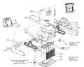 HAYWARD/AQUAVAC TIGERSHARK   MOTOR UNIT 4 HOUR - TGR QC 24V DC   RCX43000
