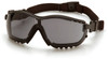 Pyramex GB1820ST V2G Safety Glasses, Frame: Black, Lens: Gray Anti-Fog (12 Pair)