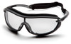 Pyramex SB4610STP XS3 Plus Safety Glasses, Frame: Black, Lens: Clear Anti-Fog (12 Pair)