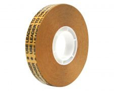 Intertape  - 12 MM X 33 M 5 Mil Reverse-Wound Acrylic Transfer Adhesive Tape Natural Adhesive Transfer - ATG50001233I (72 Rolls)