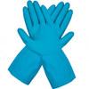 Liberty Glove 2886l/XL Blue Latex Canners Glove Scalloped Cuff, Size XLarge (12 Pair)