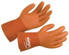 "Memphis 6620L""RedCoat"" Glove, Seamless Red PVC, 10"", Size Large (12 Pair)"
