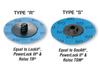 """Superior Abrasives 36680 2"""" Quick Change Discs GA-Zirc, Type """"S"""", 60 grit, Qty. 100/Pkg."""