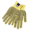 Memphis 9366L Yellow 2-Sided PVC Dots Safety Gloves Size Large (1 Pair)