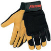 Memphis Fasguard 901L Premium Grain Deerskin Mechanic Work Gloves, Large (1 Pair)