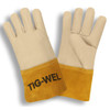 Cordova 8130S TIG-WEL Mig/Tig Welders Gloves, Premium Grain Cowhide, Kevlar Thread, Gauntlet Cuff, Small (12 pair) (02-354783.12)