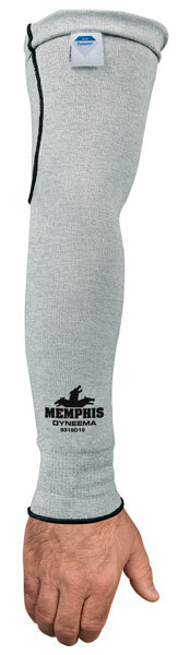 Memphis 9318D10 - 10 gauge Dyneema® plain sleeve, 18 inches length, CPPT 2, CE 3 (10 pack) (12-400050.10)