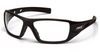 Pyramex - Velar SB10410D Safety Glasses Black Frame Clear Lens (Qty. 12)