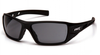 Pyramex - Velar SB10420D Safety Glasses Black Frame Gray Lens (Qty. 12)