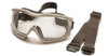 Pyramex - G604T2 Capstone Goggles 600, Gray Body, Anti-Fog Clear Lens  (Qty 1)