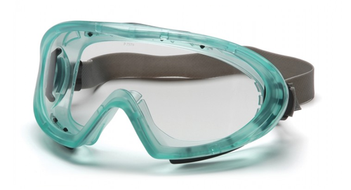 Pyramex - GC504TN Capstone Chemical Green Direct/Indirect Clear H2X Anti-Fog Lens (QTY 12)