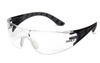 Pyramex SBG9610ST Endeavor Plus Anti-Fog Clear Lens with Black and Gray Temples (Qty. 12)