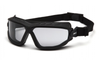 Pyramex Toser GB10025TM Light Gray H2MAX Anti-Fog Lens with Black Strap (Qty. 12)