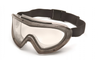 Pyramex GG504TM Capstone 500 Gray Direct/Indirect Goggle with Clear H2MAX Anti-Fog Lens (Qty. 12)
