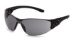 Pyramex  SB9520ST TruLock Safety Glasses Gray H2X Anti-Fog Lens with Black Temples (12 Pair)