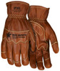 MCR Safety MU3624KM Mustang Utility Goatskin Leather Gloves, Size Medium (1 Pair)